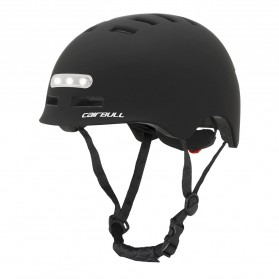 CAIRBULL Helm Sepeda Urban Commuter Cycling Bike Cap Size L with Tail Light - CB-28 - Black - 6