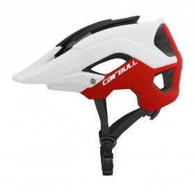 Cairbull Helm Sepeda Ultralight Cycling Bike Helmet - CB-19 - White/Red
