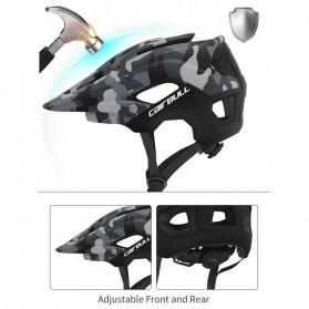 Cairbull Helm Sepeda Ultralight Cycling Bike Helmet - CB-19 - White/Red - 7