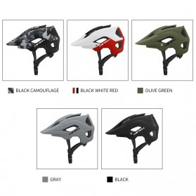 Cairbull Helm Sepeda Ultralight Cycling Bike Helmet - CB-19 - White/Red - 9