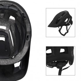 Cairbull Helm Sepeda Ultralight Cycling Bike Helmet - CB-19 - Black - 4