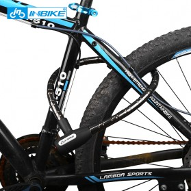 INBIKE Gembok Sepeda Kabel Waterproof 0.85m - CB106 - Black - 3