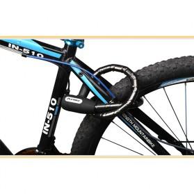 INBIKE Gembok Sepeda Kabel Waterproof 0.85m - CB106 - Black - 4