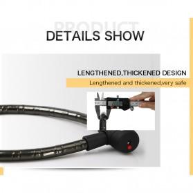 INBIKE Gembok Sepeda Kabel Waterproof 0.85m - CB106 - Black - 9