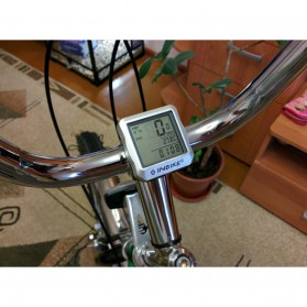 Inbike Speedometer Sepeda 14 Function LCD Display Bicycle - Black/Blue - 3