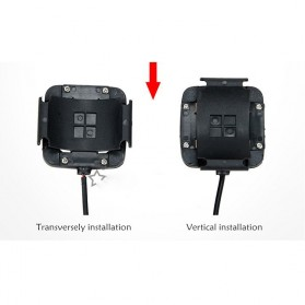 Inbike Speedometer Sepeda 14 Function LCD Display Bicycle - Black/Blue - 6