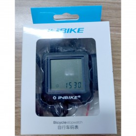 Inbike Speedometer Sepeda 14 Function LCD Display Bicycle - Black/Blue - 10