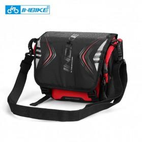 INBIKE Tas Sepeda Multifungsi Sporty Bicycle Bag Waterproof - H-9 - Black/Red