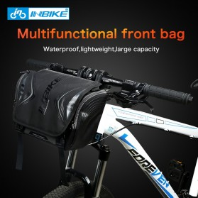 INBIKE Tas Sepeda Multifungsi Sporty Bicycle Bag Waterproof - H-9 - Black - 2