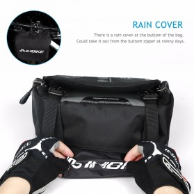INBIKE Tas Sepeda Multifungsi Sporty Bicycle Bag Waterproof - H-9 - Black - 4
