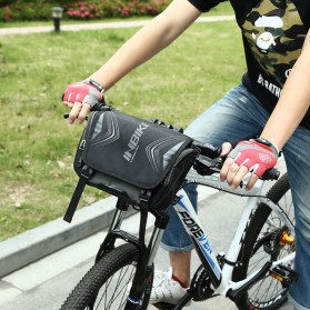 INBIKE Tas Sepeda Multifungsi Sporty Bicycle Bag Waterproof - H-9 - Black - 6