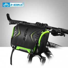INBIKE Tas Sepeda Multifungsi Sporty Bicycle Bag Waterproof - H-9 - Black/Green