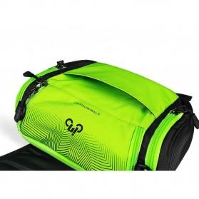 INBIKE Tas Sepeda Multifungsi Sporty Bicycle Bag Waterproof - H-9 - Black/Green - 2