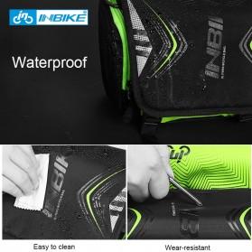 INBIKE Tas Sepeda Multifungsi Sporty Bicycle Bag Waterproof - H-9 - Black/Green - 8