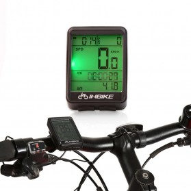 INBIKE Speedometer Sepeda Wireless Sensor - IC321 - Black