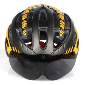 INBIKE Helm Sepeda MTB Ultralight Windproof Lens Size L - MX-3 - Silver - 5