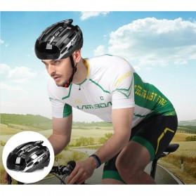 INBIKE Helm Sepeda MTB Ultralight Windproof Lens Size L - MX-3 - Silver - 9