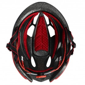 INBIKE Helm Sepeda MTB Ultralight Windproof Lens - MX-9 - Black/Red - 3