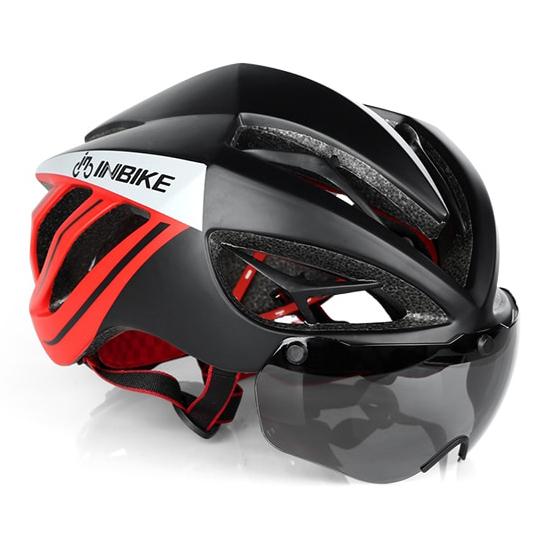 INBIKE Helm Sepeda MTB Ultralight Windproof Lens MX9