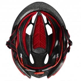 INBIKE Helm Sepeda MTB Ultralight Windproof Lens - MX-9 - Black/Green - 3