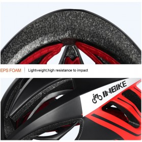 INBIKE Helm Sepeda MTB Ultralight Windproof Lens - MX-9 - Black/Green - 9
