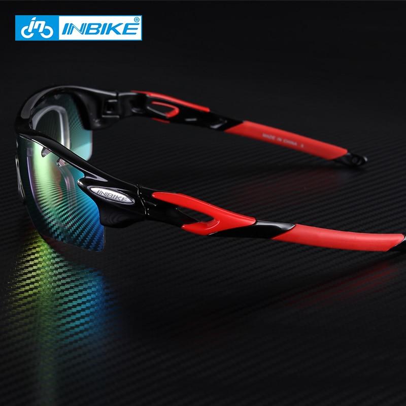 ... INBIKE Kacamata Sepeda Polarized Sunglasses dengan 5 Lensa - IG16916 -  Gray - 3 ... 1c2e111069