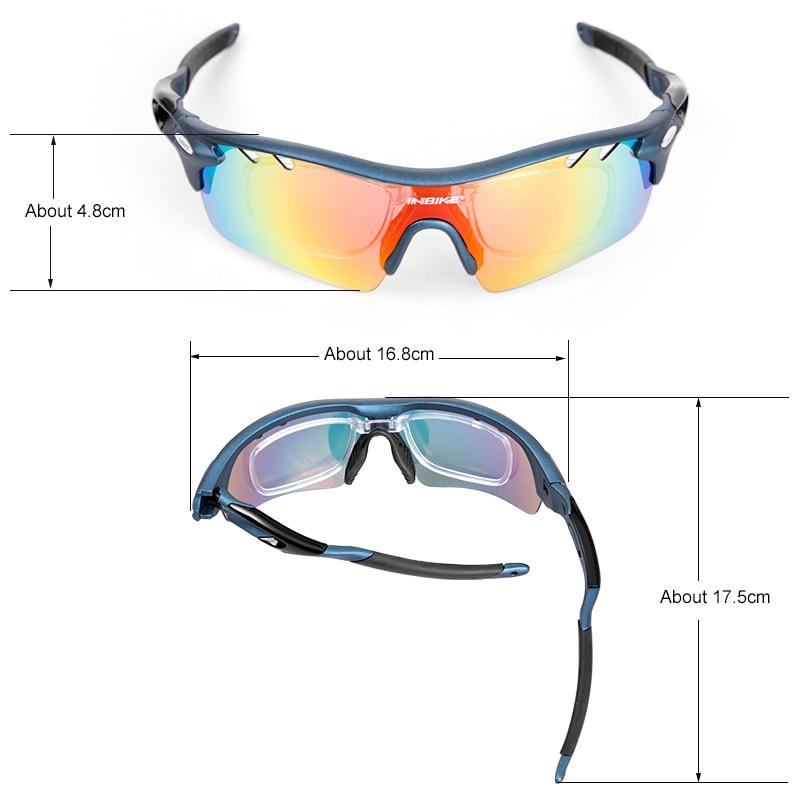 ... INBIKE Kacamata Sepeda Polarized Sunglasses dengan 5 Lensa - IG16916 -  Gray - 5 ... f25547cb61