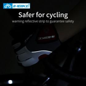 INBIKE Sarung Tangan Motor Full Finger Protektor Gel Pad Size XL - IF239 - Dark Gray - 5