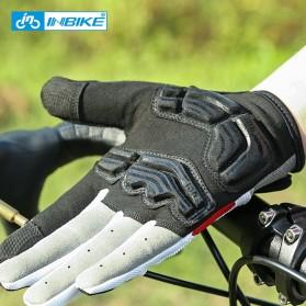 INBIKE Sarung Tangan Motor Full Finger Protektor Gel Pad Size XL - IF239 - Dark Gray - 7