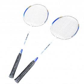 REGAIL Raket Badminton Aluminium 2 PCS - 718A - Blue