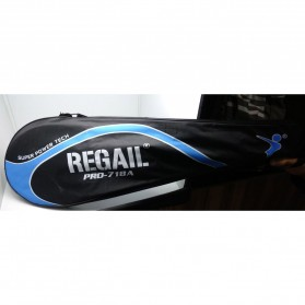 REGAIL Raket Badminton Aluminium 2 PCS - 718A - Blue - 4