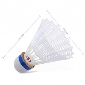 REGAIL Kok Badminton Plastic Shuttlecock 6 PCS - White - 2