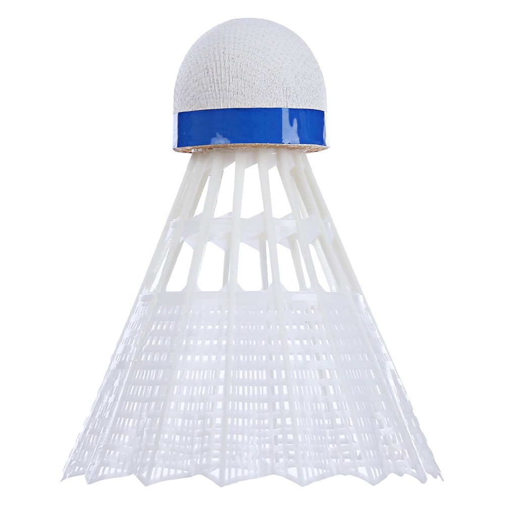 Regail Kok Badminton Plastic Shuttlecock 6 Pcs White 5
