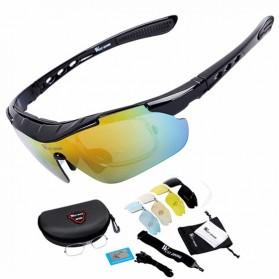 Olahraga Sepeda - WEST BIKING Kacamata Sepeda dengan 5 Lensa Myopia -  YP0703111N - Black ef7f6d2682