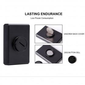 West Biking Speedometer Sepeda LCD 2.8 Inch Waterproof - B2-1-20 - Black - 8