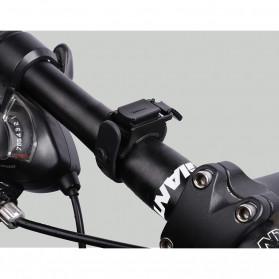 WEST BIKING Lampu Klakson Sepeda Solar & USB Power Waterproof - HJ-052 - Black - 8