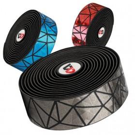 WEST BIKING Tape Rider Stang Sepeda Bandage Sweat Absorb Metal Gradient - Black - 5