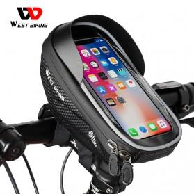 West Biking Tas Sepeda Waterproof Smartphone 6.5 Inch - YP0707235-236-241 - Black