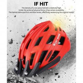 WEST BIKING Helm Sepeda Cycling Bike Helmet - TK-YP07 - Black - 2
