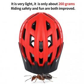WEST BIKING Helm Sepeda Cycling Bike Helmet - TK-YP07 - Black - 8