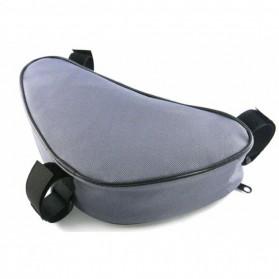 B-SOUL Tas Sepeda Segitiga Nylon Waterproof - YA191 - Gray - 4