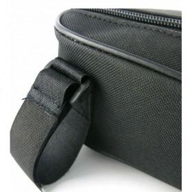 B-SOUL Tas Sepeda Segitiga Nylon Waterproof - YA191 - Gray - 6