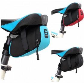 B-SOUL Tas Sepeda Waterproof Bag - WB13006 - Black - 6