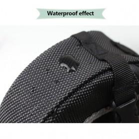B-SOUL Tas Sepeda Waterproof Storage Saddle Seat Cycling Tail Rear Pouch Bag - Black - 5