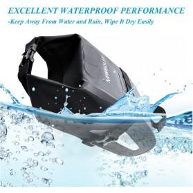 Newboler Tas Jok Sepeda Saddle Safety Bag Waterproof 3L - BAG009 - Black - 2
