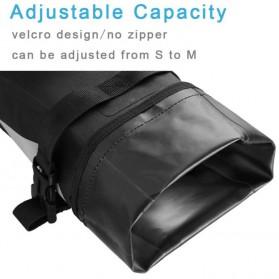 Newboler Tas Jok Sepeda Saddle Safety Bag Waterproof 3L - BAG009 - Black - 4