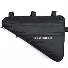 Newboler Tas Sepeda Segitiga Large Bicycle Triangle Bag Size XL - BAG011 - Black - 2