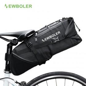 NEWBOLER Tas Sepeda Saddle Bag 10L - BAG026 - Black