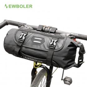 NEWBOLER Tas Sepeda Front Saddle Bag 10L - BAG005 - Black - 1