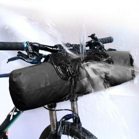 NEWBOLER Tas Sepeda Front Saddle Bag 10L - BAG005 - Black - 2